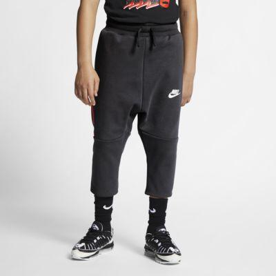 Nike Sportswear Tech Fleece Older Kids' Cropped Trousers