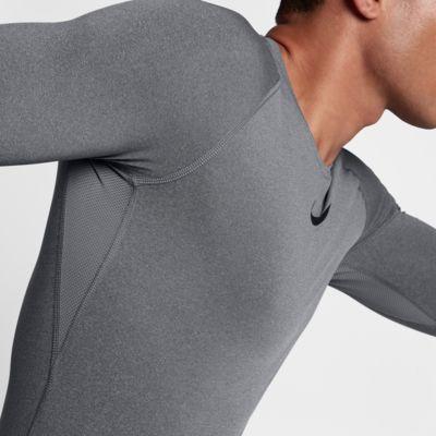 Haut à manches longues Nike Pro pour Homme