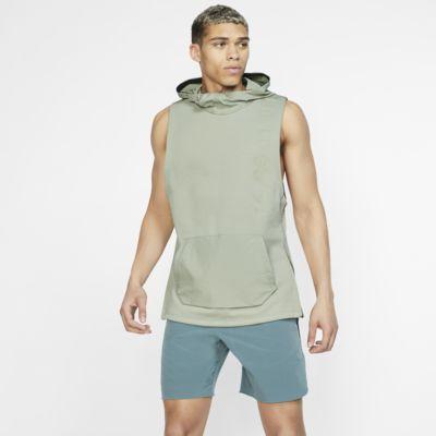 Ανδρική αμάνικη μπλούζα προπόνησης με κουκούλα Nike Therma Tech Pack