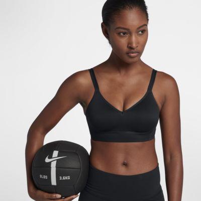 Damski stanik sportowy Nike Indy Breathe zapewniający lekkie wsparcie