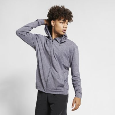 Nike Dri-FIT Men's Full-Zip Yoga Training Hoodie