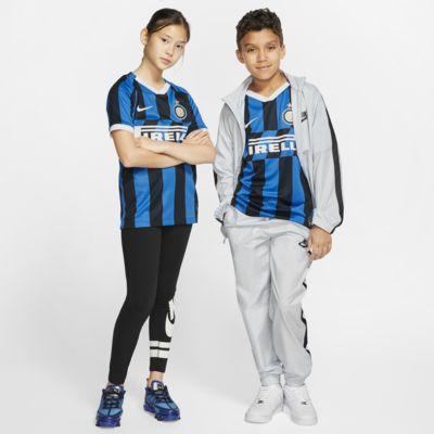 Inter Milan 2019/20 Stadium Home Genç Çocuk Futbol Forması