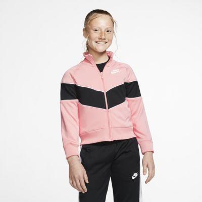 Nike Sportswear Heritage Tam Boy Fermuarlı Genç Çocuk (Kız) Ceketi