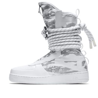 Nike SF Air Force 1 Hi Ibex Men's Lifestyle Boots White iJ1887B