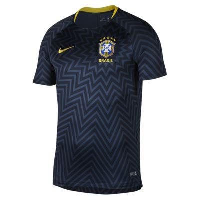 Brasil CBF Dri-FIT Squad fotballtrøye for herre