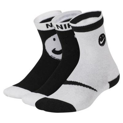 Nike Little Kids' Crew Socks (3 Pairs)