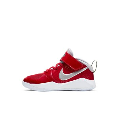 Nike Team Hustle D 9 Auto Little Kids' Shoe