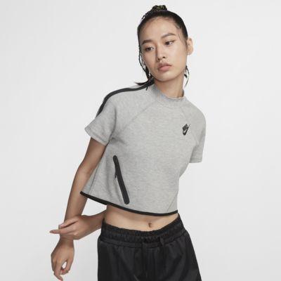Nike Sportswear Tech Fleece 女款短袖上衣