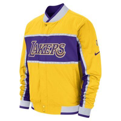Los Angeles Lakers Nike Courtside NBA-s férfikabát