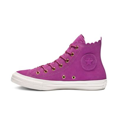 Chuck Taylor All Star Frilly Thrills High Top Womens Shoe