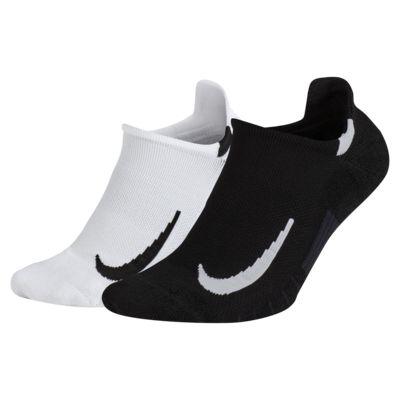 Nike Multiplier No-Show-strømper (2 par)