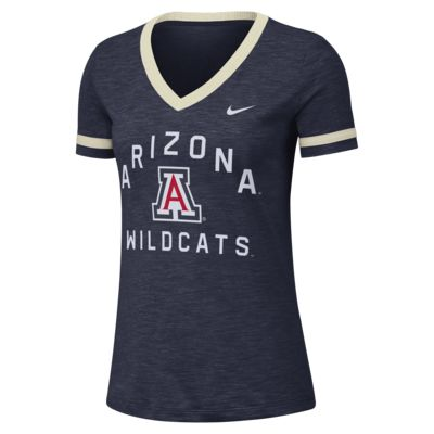 Nike College Dri-FIT Fan (Arizona) Women's Short-Sleeve V-Neck Top