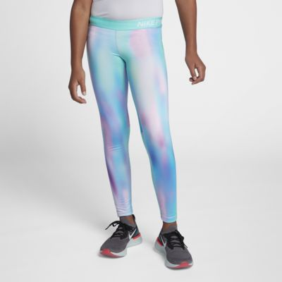Leggings de training imprimé Nike Pro Warm pour Fille plus âgée