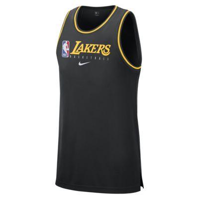 Los Angeles Lakers Nike Dri-FIT NBA-tanktop til mænd