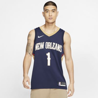 Zion Williamson (NBA) Icon Edition Swingman (New Orleans Pelicans) Men's Nike NBA Connected Jersey