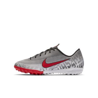 Nike Jr. Mercurial Vapor XII Academy Neymar Jr 小/大童人工草地足球鞋