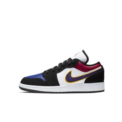 quality design 70b3d 78854 Air Jordan 1 Low Big Kids' Shoe