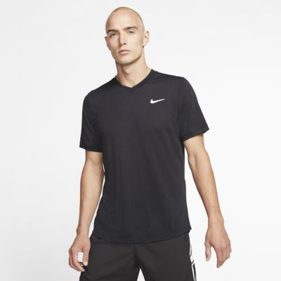 Haut de tennis à manches courtes NikeCourt Dri-FIT Challenger pour Homme