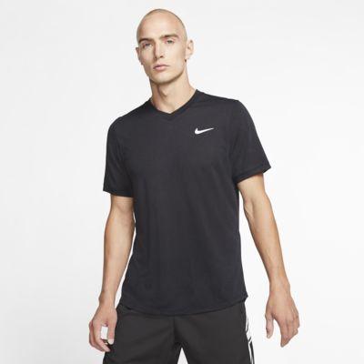 Męska koszulka z krótkim rękawem do tenisa NikeCourt Dri-FIT Challenger