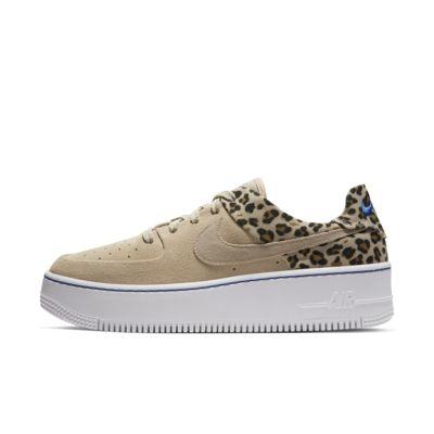 Nike Air Force 1 Sage Low Premium Animal Zapatillas - Mujer