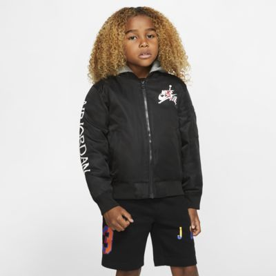Jordan Jumpman Younger Kids' Hooded Bomber Jacket