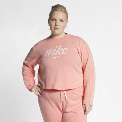Nike Sportswear Women's Cropped Crew (Plus Size)
