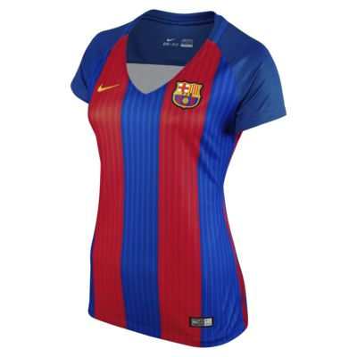 2016/17 FC Barcelona Stadium Home Women's Football Shirt