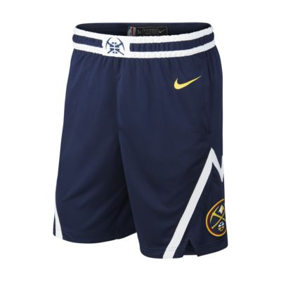 Denver Nuggets Icon Edition Swingman Men's Nike NBA Shorts