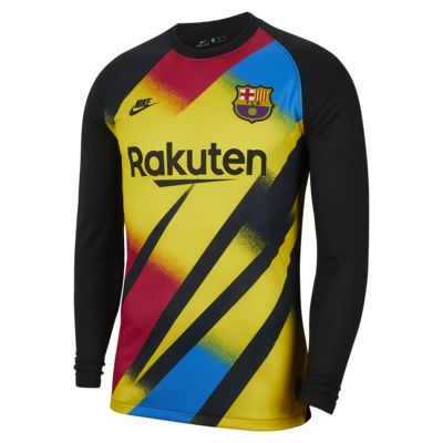 FC Barcelona 2019/20 Stadium Goalkeeper Men's Football Shirt