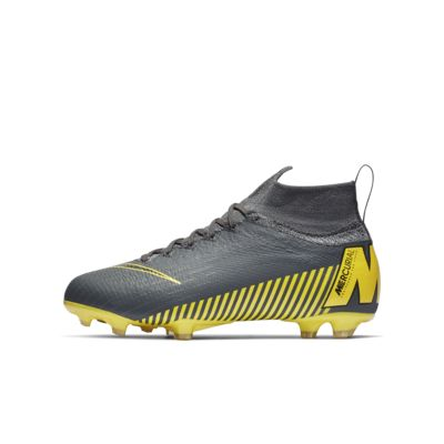 Chaussure de football à crampons pour terrain sec Nike Jr. Superfly 6 Elite FG Game Over pour Enfant plus âgé