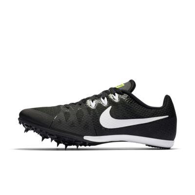 Купить Шиповки унисекс для бега на средние дистанции Nike Zoom Rival M 8, Черный/Салатовый/Белый, 19870563, 11825225