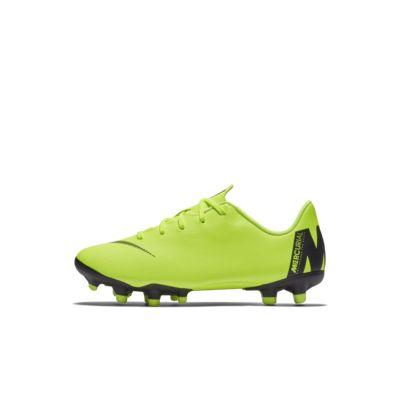 Calzado de fútbol para múltiples superficies para niños pequeños Nike Jr. MercurialX Vapor XII Academy