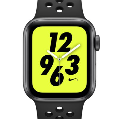 Apple Watch Nike+ Series 4 (GPS + Cellular) amb corretja Nike Sport Band Rellotge esportiu de 40 mm