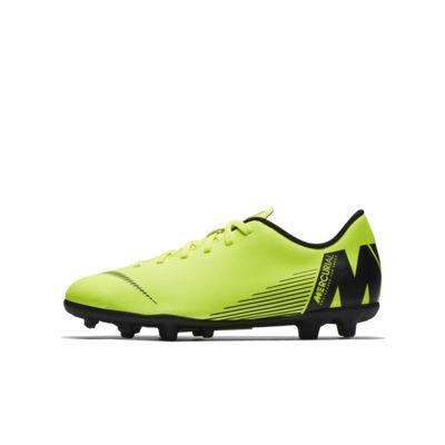 Nike Jr. Mercurial Vapor XII Club 小/大童多種場地足球釘鞋