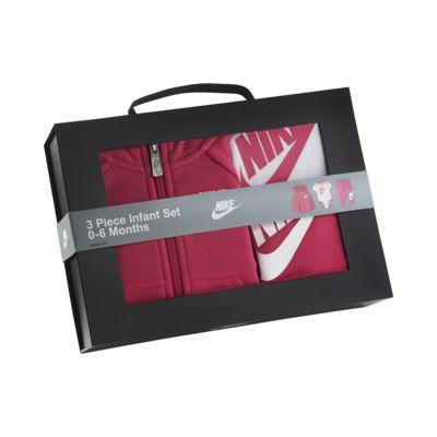 Nike Baby (0-6M) Hoodie, Bodysuit and Pants Set