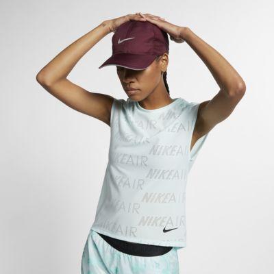 Nike Air kortermet løpeoverdel til dame