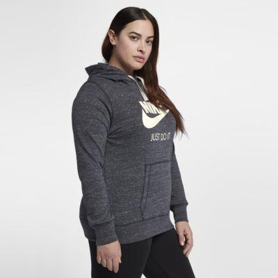 Nike Sportswear Gym Vintage hettegenser for dame (store størrelser)