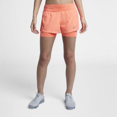Купить Женские беговые шорты 2 в 1 Nike Eclipse