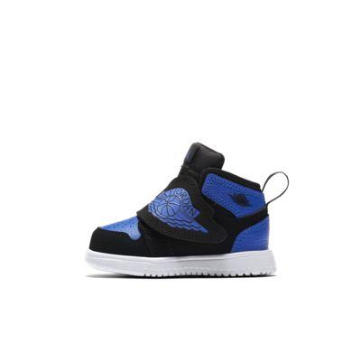 Купить Кроссовки для малышей Sky Jordan 1, Черный/Белый/Hyper Royal, 23382150, 12647923