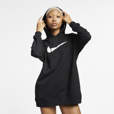 Hoodie em tecido moletão Nike Sportswear Swoosh para mulher
