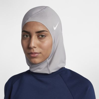 Nike Pro Hijab Woman/'s Ladies Girls Running Sport nero//bianco