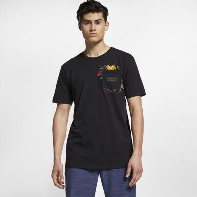 T-shirt med ficka Hurley Premium Fat Cap för män