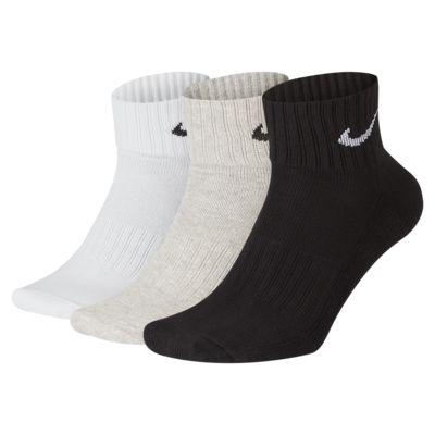Calcetines de entrenamiento hasta el tobillo Nike Cushion (3 pares)