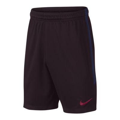 Shorts de fútbol para niños talla grande Nike Dri-FIT FC Barcelona Strike