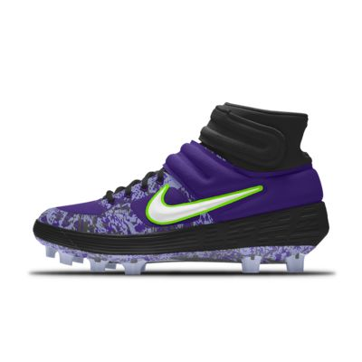 Personalizowane korki do gry w baseball Nike Alpha Huarache Elite 2 Mid MCS Premium By You