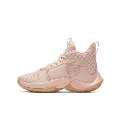 Jordan 'Why Not?' Zer0.2 Basketbalschoen voor kids