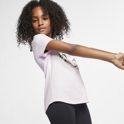 Nike Sportswear Big Kids' (Girls') Floral T-Shirt