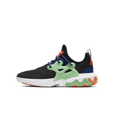 Кроссовки для школьников Nike React Presto