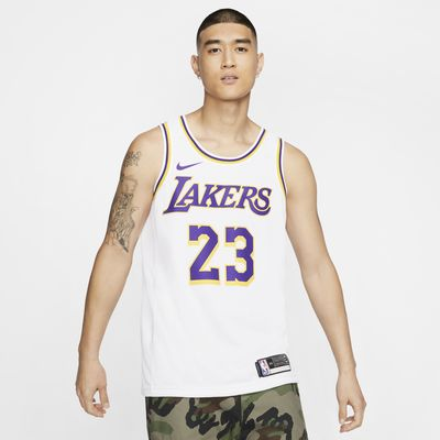 Джерси Nike НБА Swingman LeBron James Lakers Association Edition
