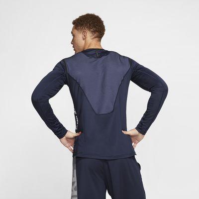 Langærmet Nike Pro AeroAdapt-overdel til mænd